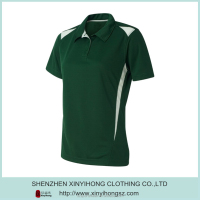 Fashion New design performance dry fit golf polo t shirts