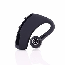 V9 Bluetooth 4.1 Wireless Headset Made in China Noise Cancelling In-ear Earbuds Earpiece for Cell Phones
