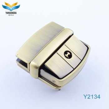 New products metal briefcase latch for leather bag accessories