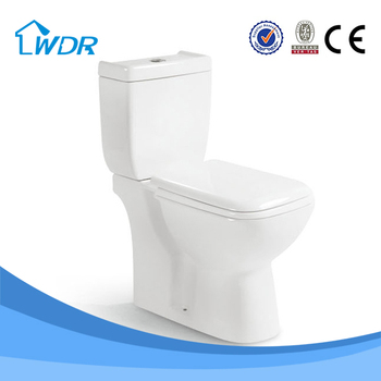 Sanitary ware floor mounted washdown cheap two piece wc toilet