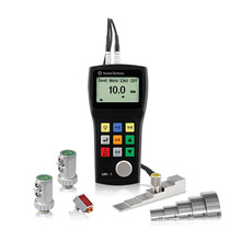 NDT Manufacture ultrasonic thickness gauge for fiberglass check quality inspection