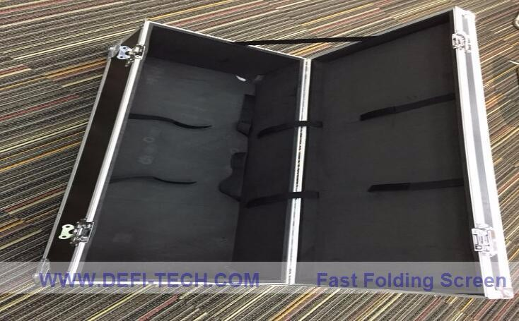 3d folding projector screen for Outdoor Large Concerts, Exhibitions, Cinema etc