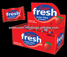 Super Fresh Strawberry Chewing Gum
