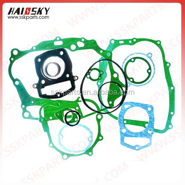 HAISSKY motorcycle spare parts for wholesale long service life high quality wholesale motorcycle gasket for honda OEM WELCOME