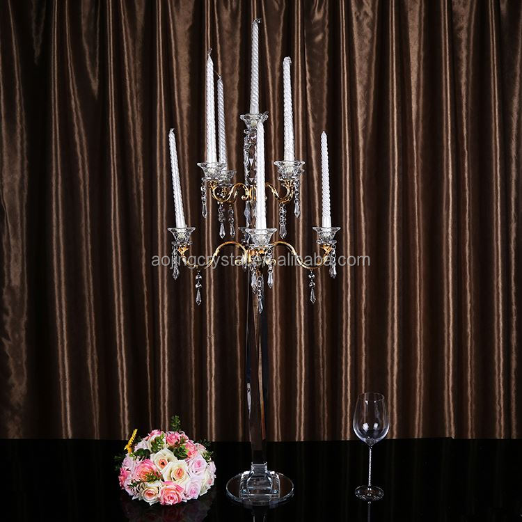 Latest arrival fashionable cheap candelabras fast delivery