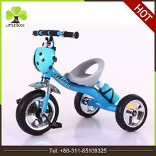 Small Little Kids Metal Tricycle with Basket China Factory Supply Children Tricycle Toddler air tire Baby Tricycle for Hot sale