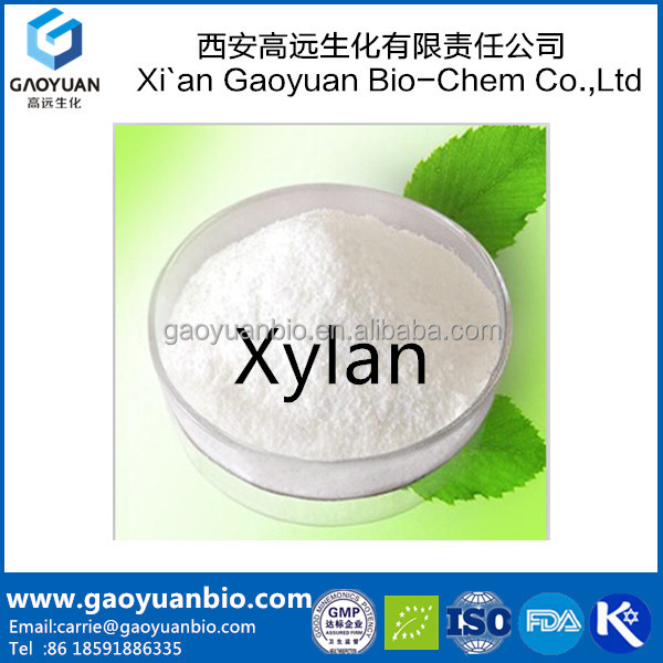 Manufacture supply 100% Natural xylan extract powder with free sample and low price