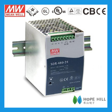 Original MEAN WELL 480W Single Output Industrial DIN RAIL with PFC Function SDR-480-48