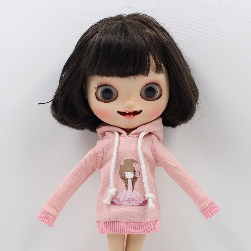 Neo Blythe Doll Light Pink Dress With Hat 1