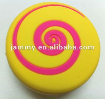 soft rubber cartoon knob for kid bedroom