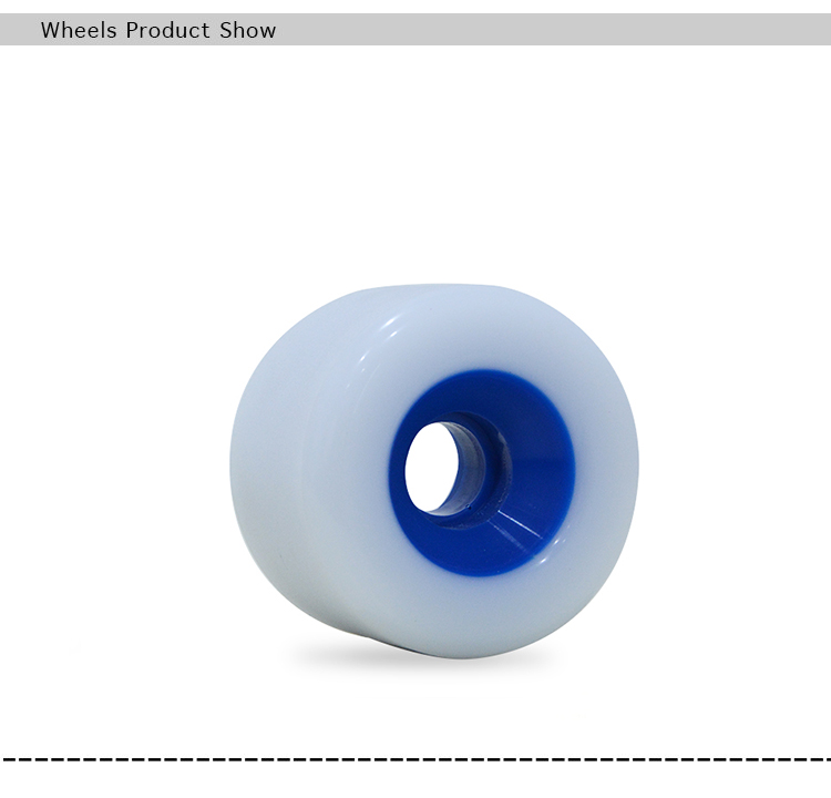 New designed PU core longboard noctilucence wheels with Better Durability