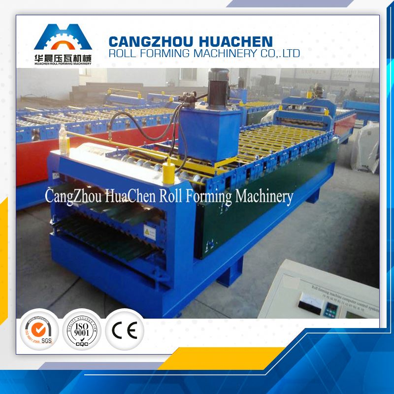 exposed fastener panels roll forming machine