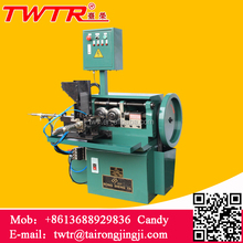 Taiwan Supplier Automatic Feeding Two Roll Threading Machines For Solid Material
