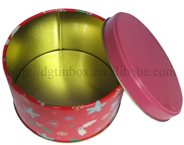 Round Tin Can/Tin Box/Metal Box