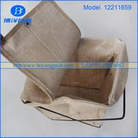 factory direct manufacture organic jute laundry bag