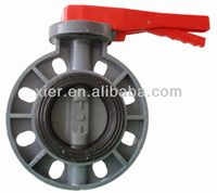 Good Qualtiy PVC Butterfly Valve/Lever Type/DN 50