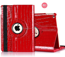 Hot selling for ipad case, for iPad cover, flip leather stand swivel case