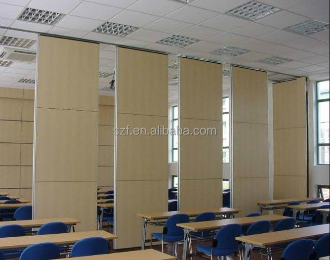 Floding movable sound proof high partion screen wall for office or classroom ( SZ-MP806)