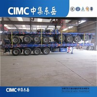 Customize Iso Flatbed Truck And Trailer Dimensions
