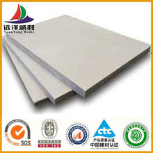 Low price waterproof 1220*2440mm high density fiber cement board High Strength Fireproofing Reinforced Cement Board