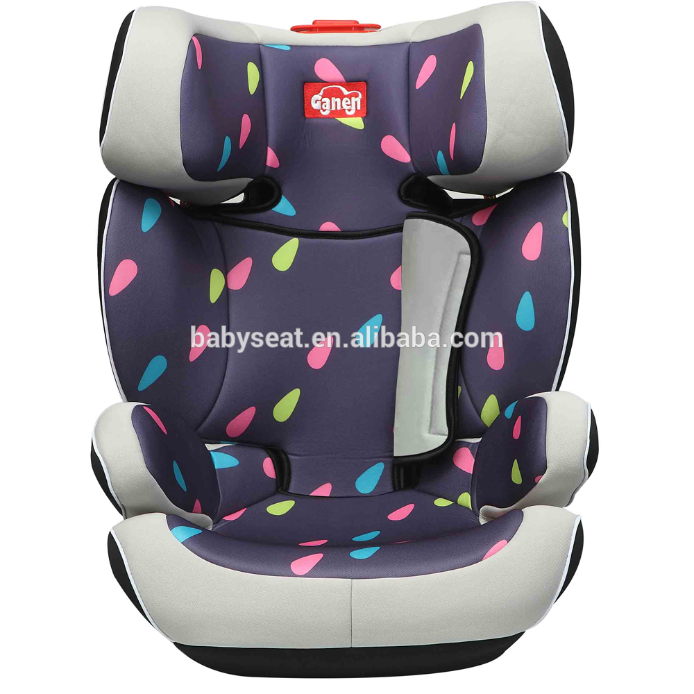 Promotional portable adult car booster seat with ECE R44/04 isofix