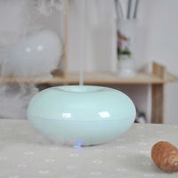 GX-03K aqua blue ultrasonic aroma diffuser used with plant oil