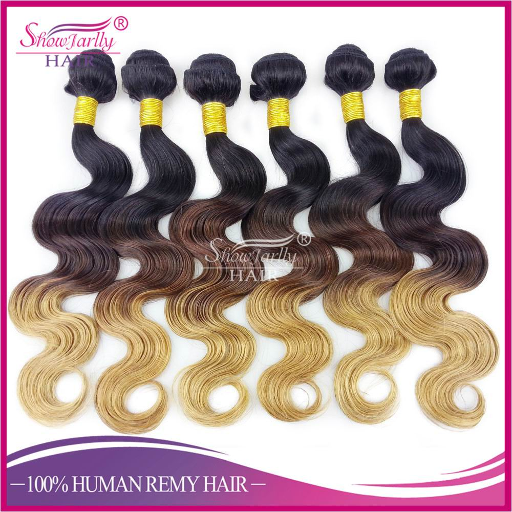 Aliexpress cheap barber chair body wave 100% human peruvian virgin hair two tone ombre remy hair weaving