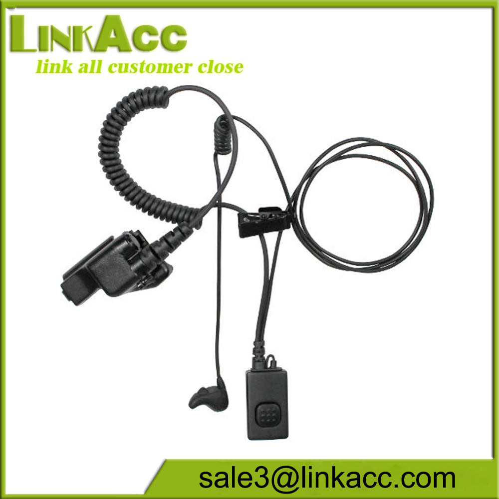 Pryme NEP-BH-01 Ear Bone Mic Earpiece for Hytera TC-268/S 270/S 368/S 370/S