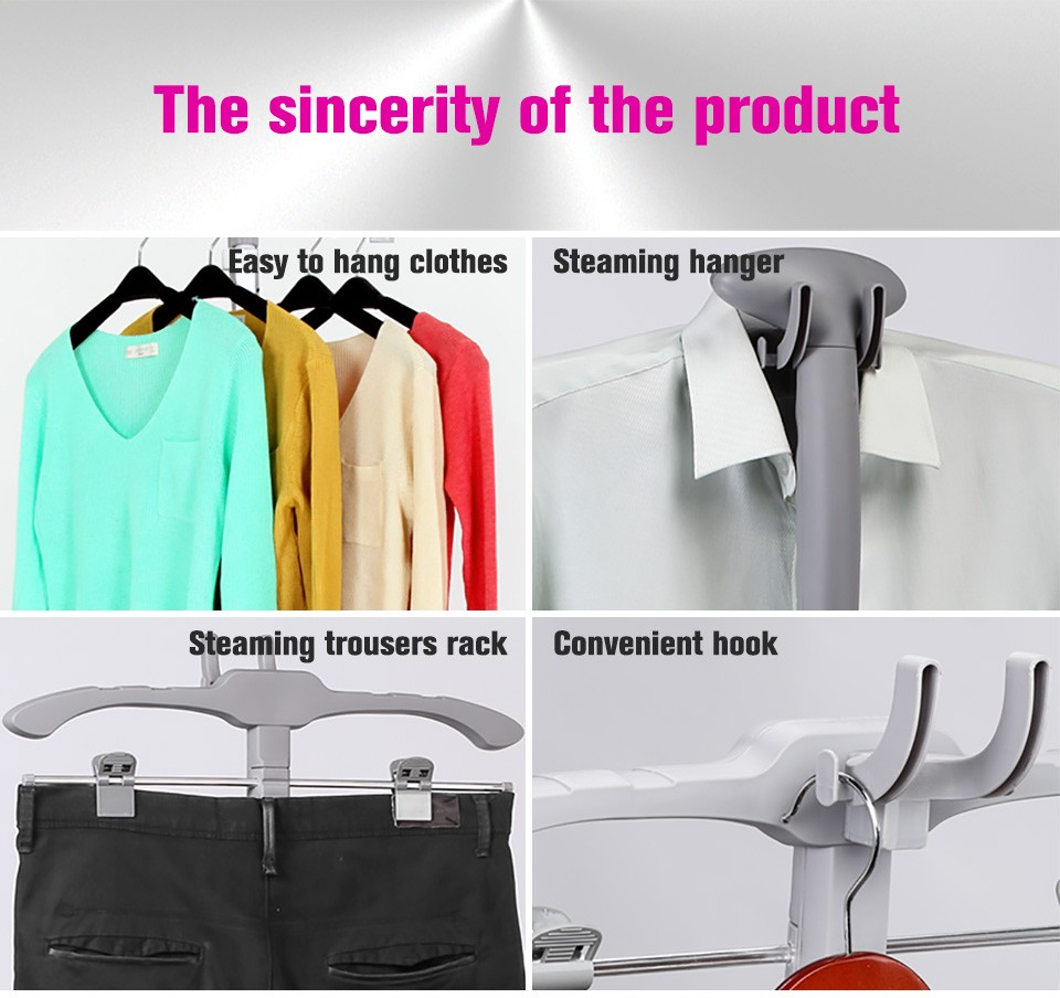 1800ml optima anti-drip fabric sterilizer self clean garment upright steam iron lightsome steamer