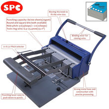 SPC RBX-100 wire o book binder