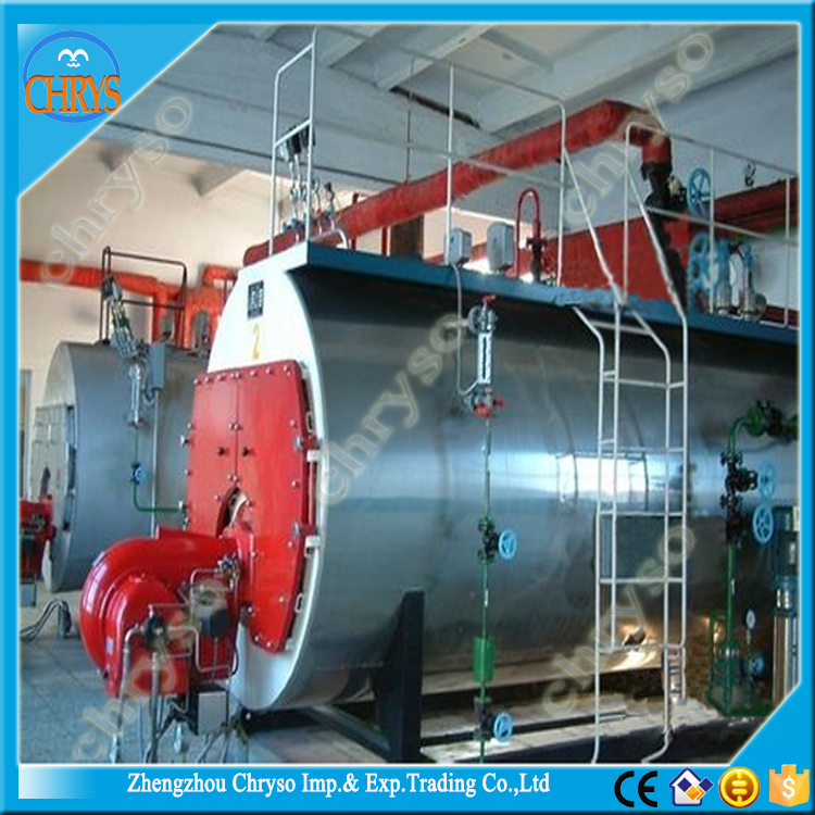 Germany fuel gas Burner Industrial Stainless Steel Gas Oil Fired Boiler