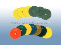 Grit style color polishing strong pads with high quality and best performance