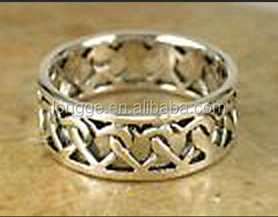 Whole real 925 silver poison ring/ engagement Infinity Ring