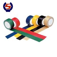 Double-sided adhesive self fusing electrical tape