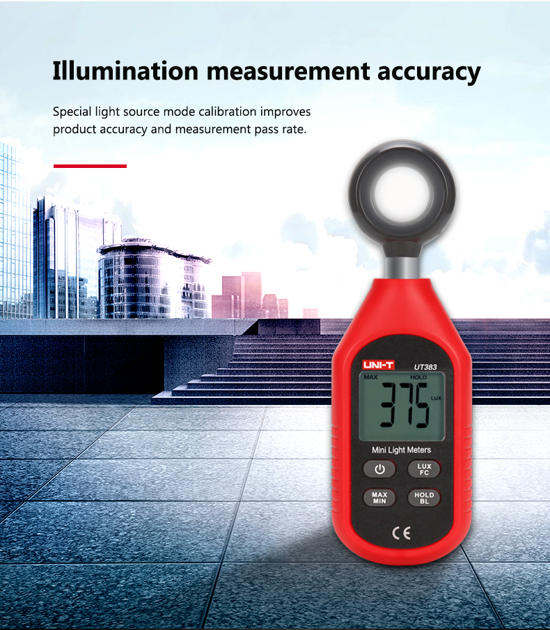 sale promotion with high quality photometer  with portable brightness meter OEM