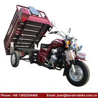New Arrived 200cc Engine Three Wheel Vehicle China Heavy Bikes 250cc Motorcycles for Cargo Use