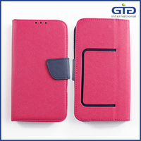 [GGIT]Universal PU Leather Wallet Case for Mobile Phone