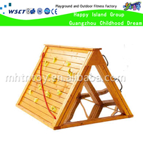 Wooden rock climbing wall chidlren rock climbing wall school rock climbing wall