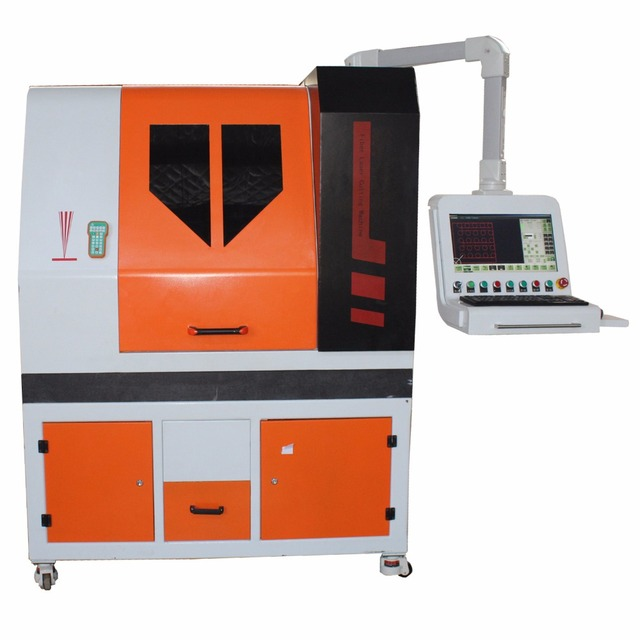 Factory Directly Price 600*400mm Spectacles Frame 300W/500W Small Size Precise Fiber Laser Cutting Machine With CE