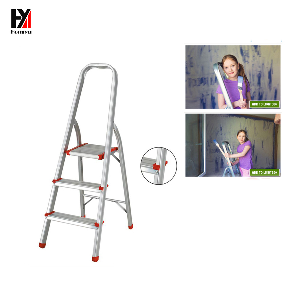 Aluminum portable household 3-8 step ladder WYAL-<strong>1015</strong> pass SGS