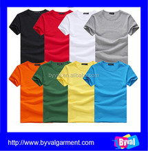 100% cotton dry fit t shirt OEM wholesale t shirts apparel