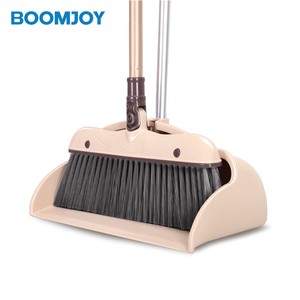 NEW HOUSEHOLD CLEANING WHOLESALE ALUMINIUM BROOM HANDLE PLASTIC BROOM AND DUSTPAN SET