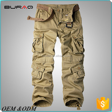 Durable Military Army tactical training pants with many pockets