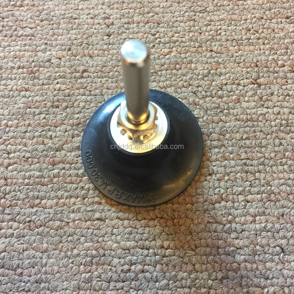 Quick change abrasive Disc holder with shaft for 50mm disc