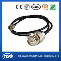 LMR-195 RF Pigtail Cable SMA Male to UHF Female