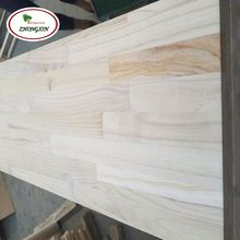 High Quality Paulownia Finger Jointed Primed Board with Factory Price