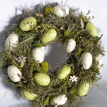 home decorative Easter eggs wreath