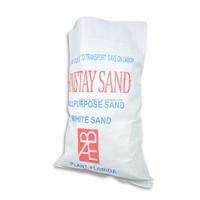 Durable plain polypropylene PP woven fabric sandbag 25kg manufacturers in China