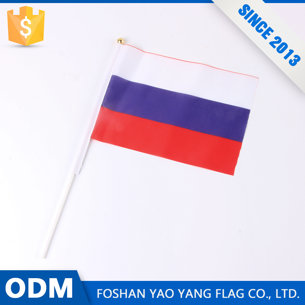 Alibaba Store On Promotion Custom Printing Russian Hand Flag