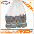 high corrugation pvc roofing sheet 1075mm/tejas pvc